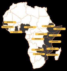 ACE TAF Africa Map