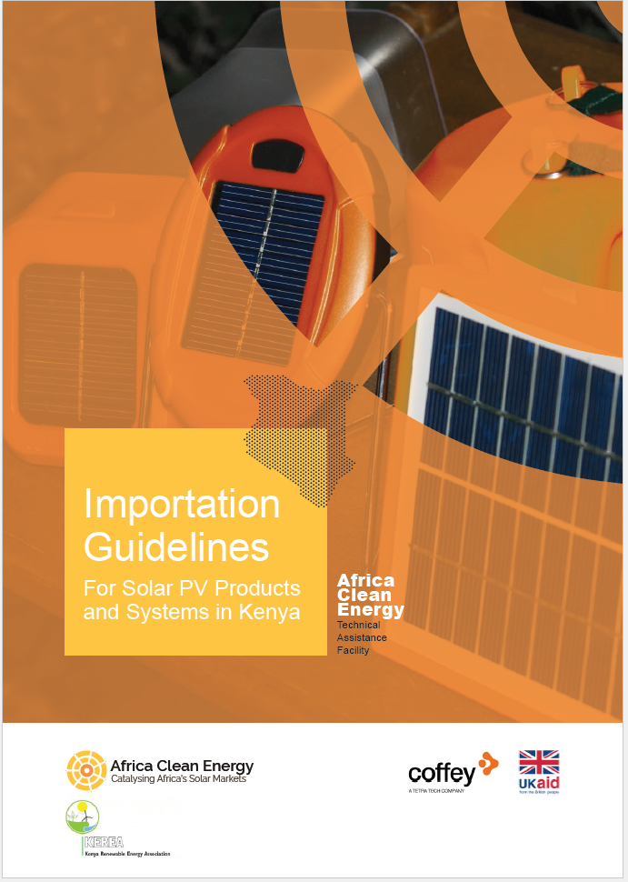 Enhancing the Stand-Alone Solar (SAS) Market in Africa