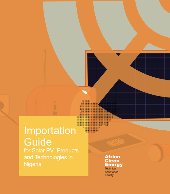 Importation Guide for Solar PV Products and Technologies in Nigeria 2020