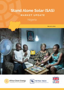 STAND-ALONE OFF-GRID SOLAR MARKET RESEARCH: Nigeria