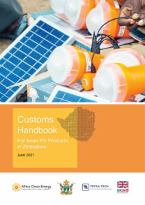 Customs Handbook for Solar PV Products in Zimbabwe