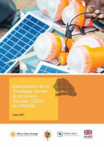Senegal - Elaboration de la Stratégie Genre et Inclusion Sociale (GESI) du PANGE