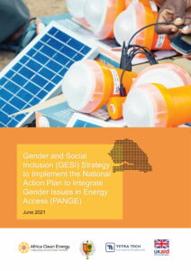 Senegal: Gender and Social Inclusion (GESI) Strategy to Implement the National Action Plan to Integrate Gender Issues in Energy Access (PANGE)
